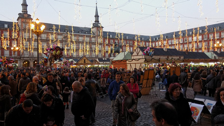 Los mejores mercados navide os de madrid blog gavir for Mercadillos navidenos madrid