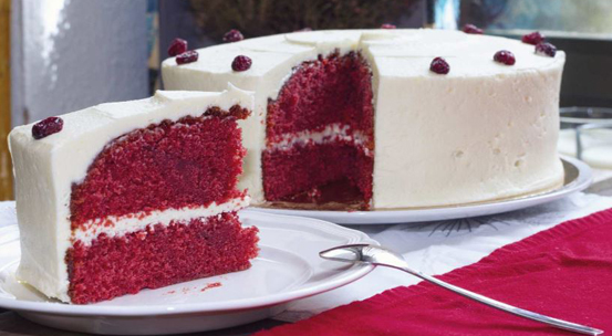 Tarta red velvet en Madrid