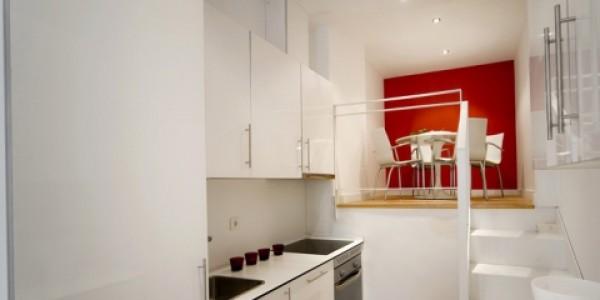 Cocina apartamento av. américa