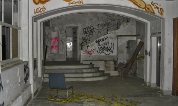 Sanatorio de la Marina abandonado
