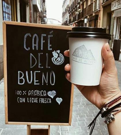 Desayunar en la latina