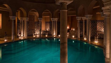Baños árabes en Madrid