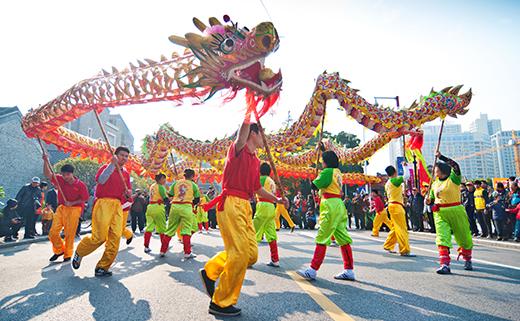 Desfile año nuevo chino
