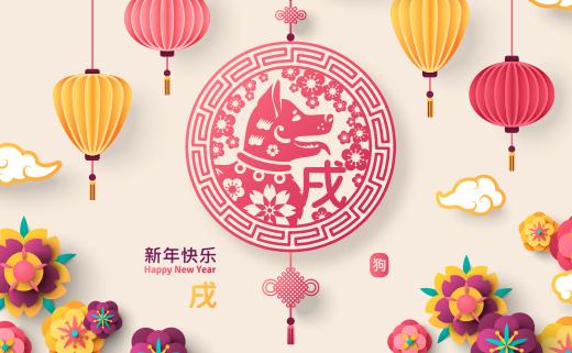 Año del perro en china