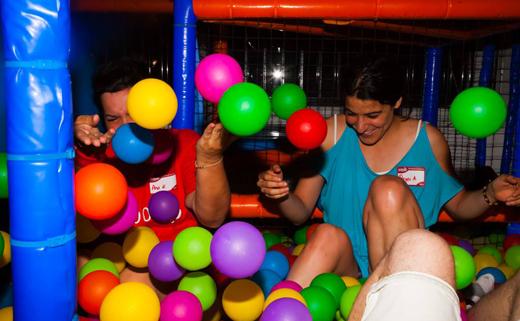 Parque bolas de adultos en Madrid