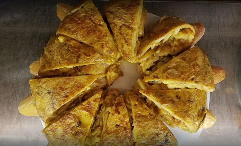 Tortilla en Juana La Loca
