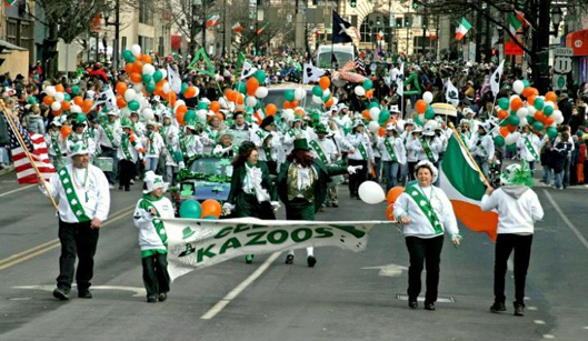 Desfile de San Patrick en EEUU