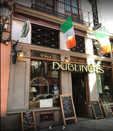 Dubliners en Madrid
