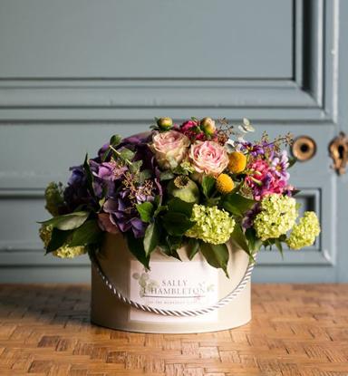 Sombrerera de flores