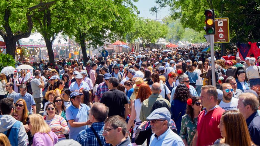 Llegan las fiestas de San Antonio de la Florida en Madrid