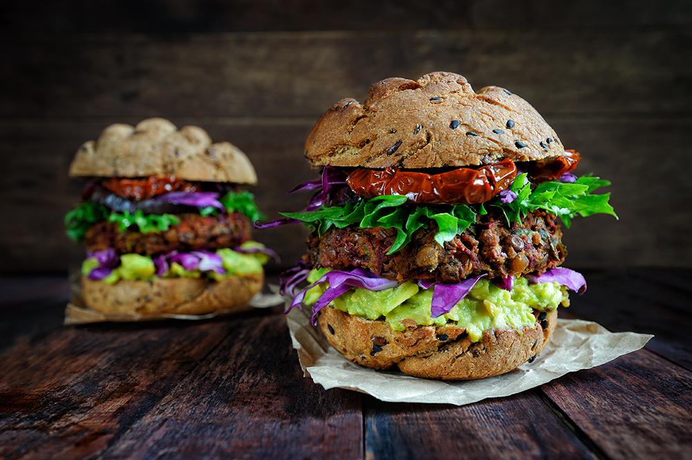 Hamburguesa vegana en madrid, restaurantes veganos, gavirental