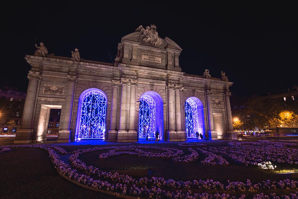 Madrid en Navidad, gavirental
