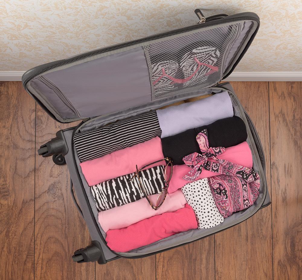 equipaje ordenado por el método marie kondo, gavirental