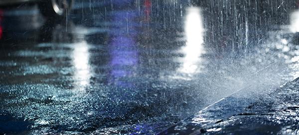 Día de lluvia primaveral en Madrid, gavirental