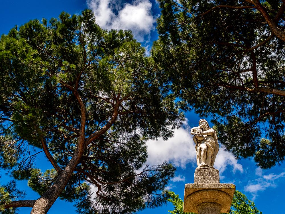 Parque del capricho en madrid, parques y jardines de madrid, gavirental