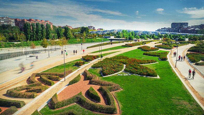 Parques y jardines de madrid, gavirental
