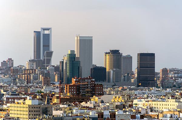 Vista mirador de Madrid, gavirental