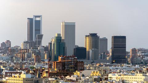 Madrid es la ciudad elegida por las grandes empresas