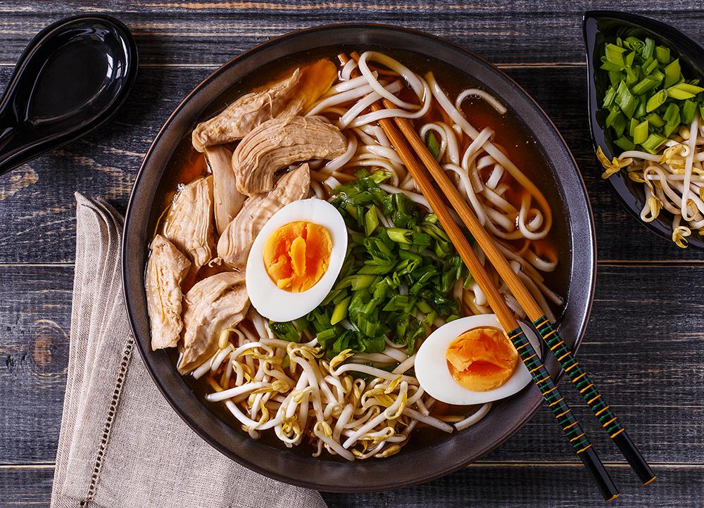 Plato de ramen japones, restaurantes madrid, gavirental