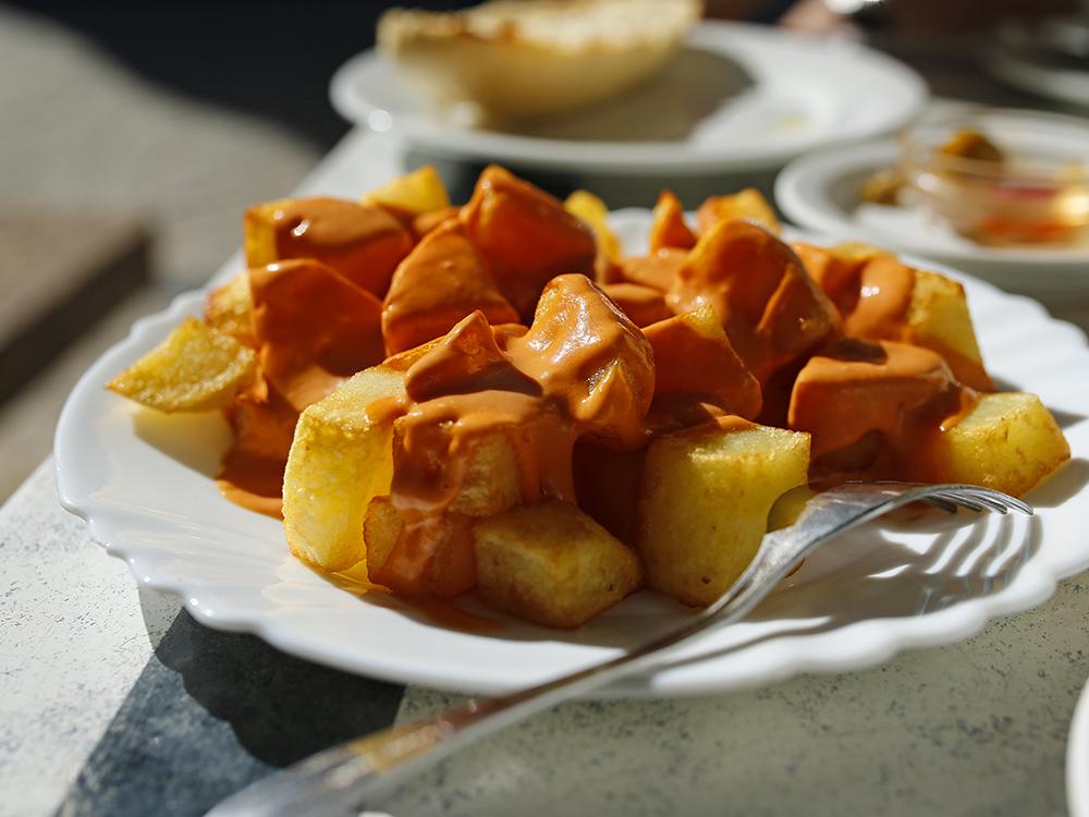 tapa de patatas brevas madrid, gavirental