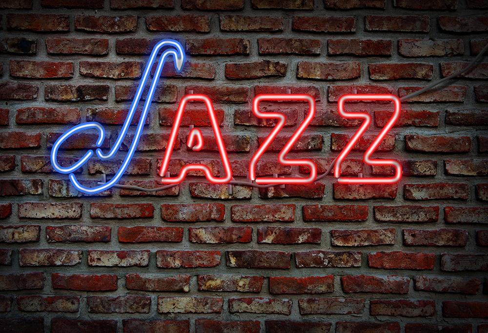 Cartel Luminoso jazz en Madrid, blog Gavirental