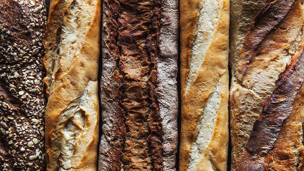 Variedad de pan artesano en Madrid, gavirental