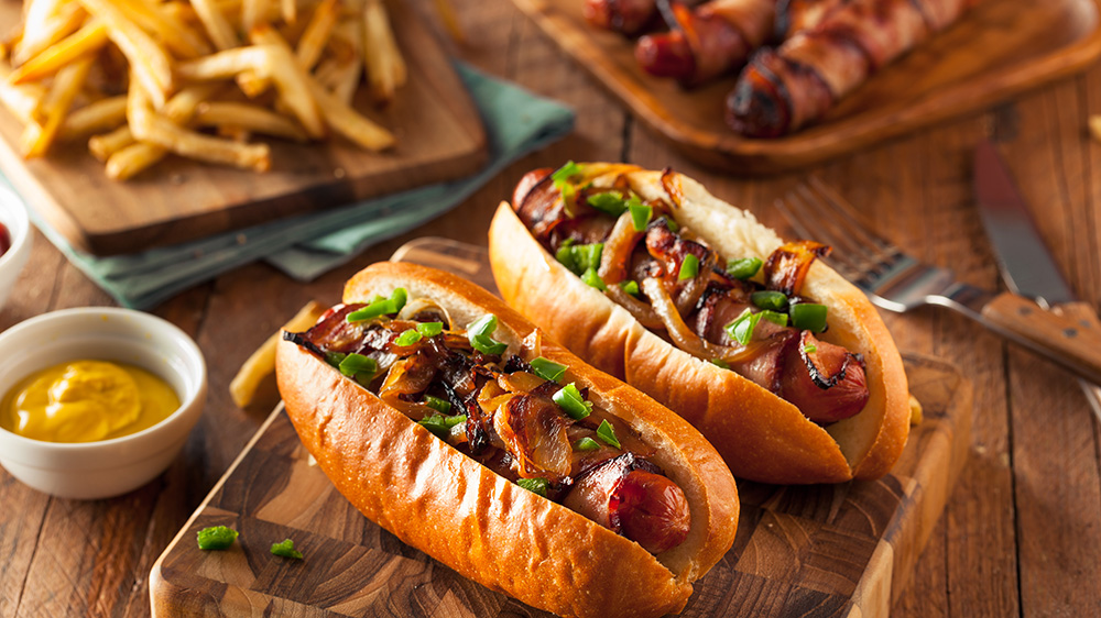 Hot Dogs con ingredientes originales en Madrid, gavirental