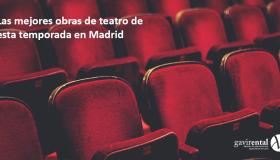 LAS MEJORES OBRAS DE TEATRO DE LA PRIMAVERA 2020 EN MADRID