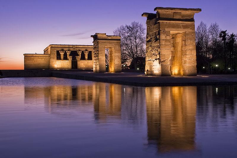 Templo de Debod en Argüelles, blog Gavirental