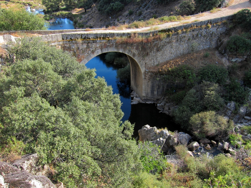 Puente de la marmota, puentes míticos de Madrid, Gavirental