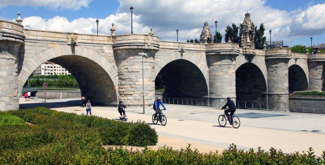 Puente de toledo, puentes míticos de Madrid, Gavirental
