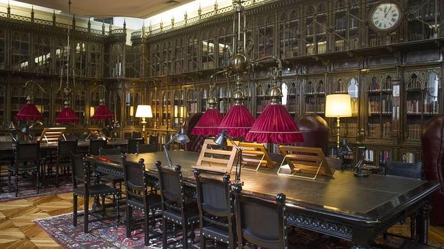Biblioteca del casino de madrid, madrid, gavirental