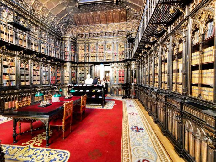 Biblioteca del senado, madrid, gavirental