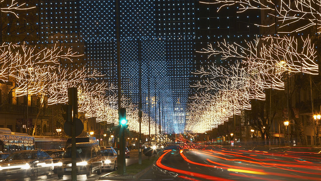 Luces de Navidad de Madrid, gavirental