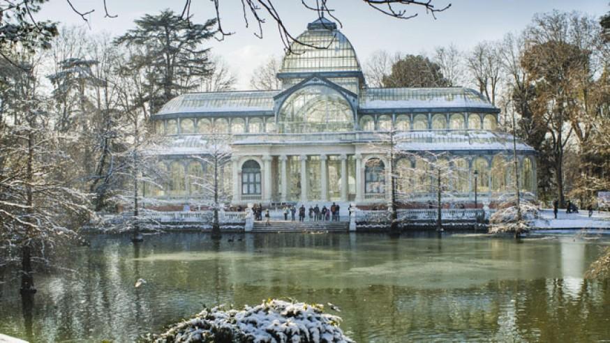 10 jardines de Madrid para disfrutar de un paseo de cuento… de invierno