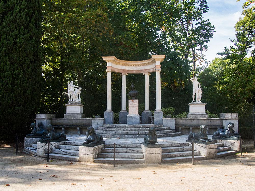 parque del capricho Madrid, gavirental