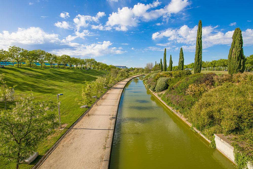 Parque Juan Carlos I en Madrid, gavirental