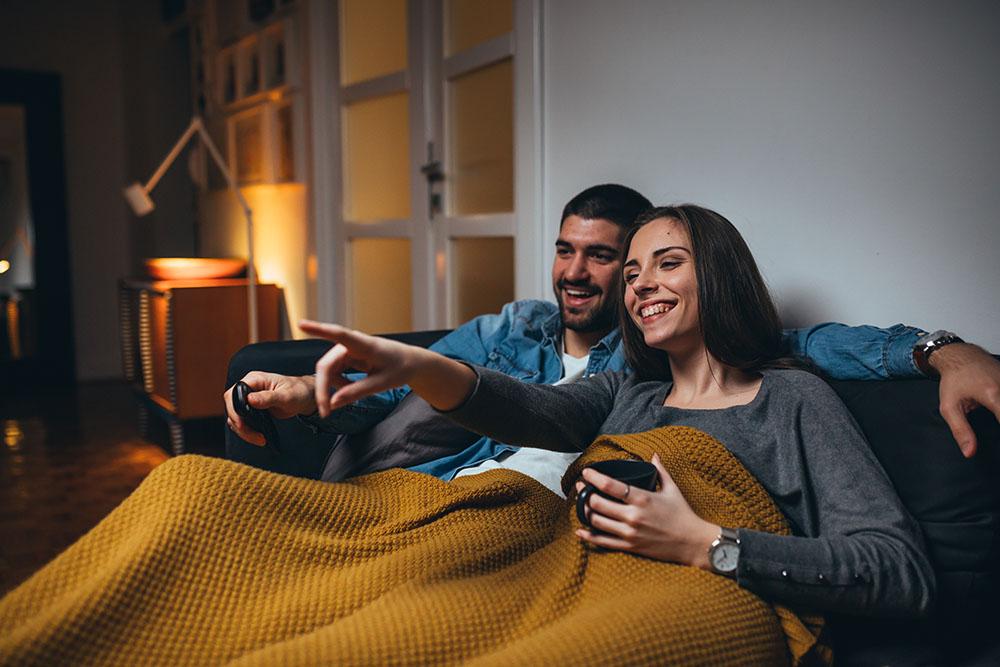 Plan romántico en casa, gavirental