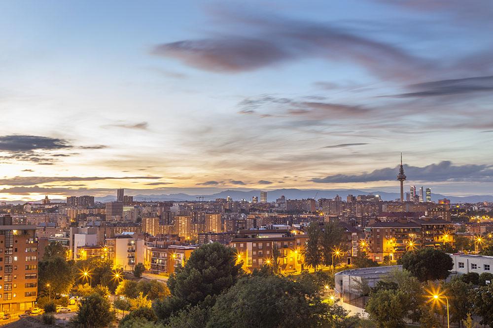 Puesta de sol de Madrid, Gavirental