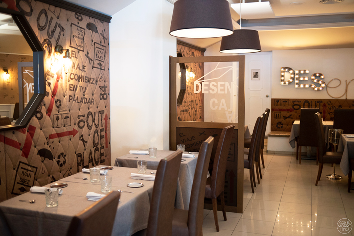 Restaurante desencaja, gavirental